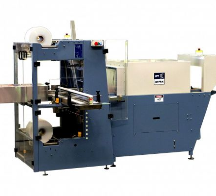 Automatic collating bundle wrapper with right angle in-feed – raa series