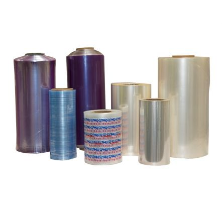 Shrink wrap film pvc polyvinyl chloride