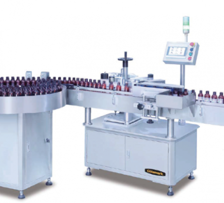 A 101 Vertical Round Bottles Labeling Machine
